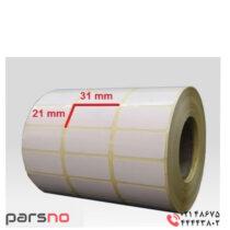 لیبل کاغذی 21 × 31