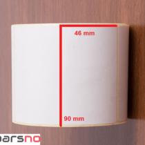لیبل کاغذی 46 × 90