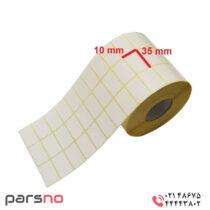 لیبل کاغذی 10 × 35