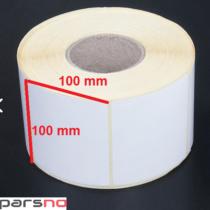 لیبل کاغذی 100 × 100