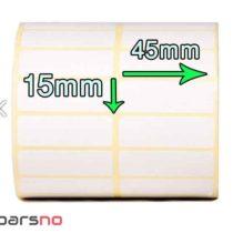 لیبل کاغذی 15 × 45