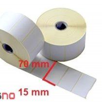 لیبل کاغذی 15 × 70