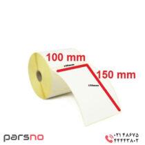 لیبل کاغذی 150 × 100