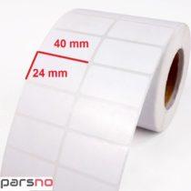 لیبل کاغذی 24 × 40