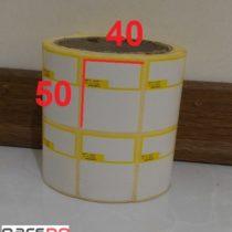 لیبل اصالت 40 × 50