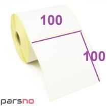 لیبل پی وی سی 100 × 100