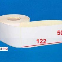 لیبل پی وی سی 50 × 122