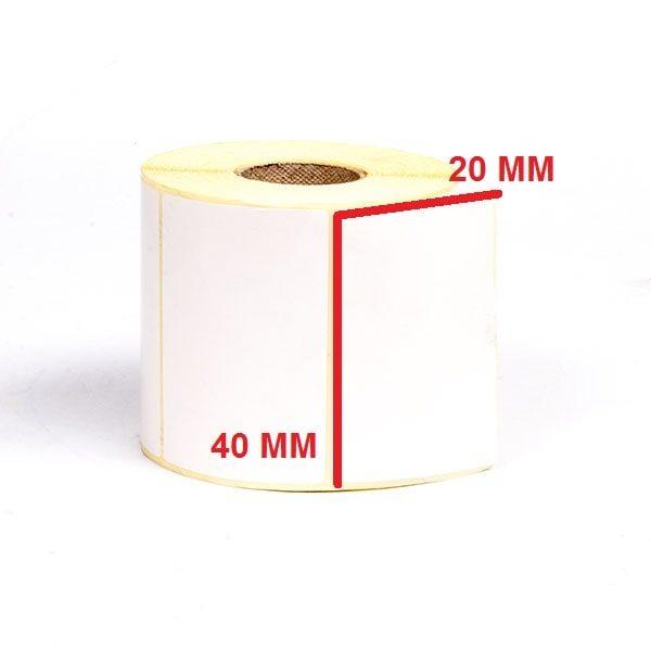 لیبل حرارتی 20 × 40