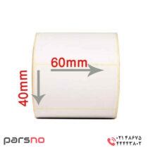 لیبل حرارتی 40 × 60