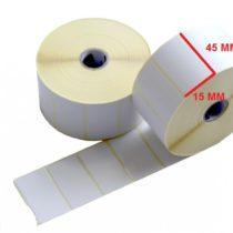 لیبل حرارتی 15 × 45
