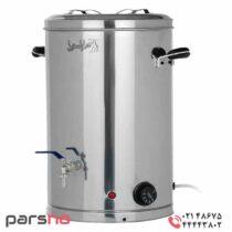سماور 30 لیتری صنعتی استیل بگیر