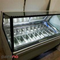 تاپینگ بستنی 14 لگن تهران سرد