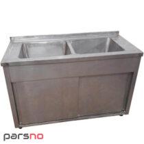 سینک ظرفشویی 190 سانت کابین دار